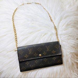 Louis Vuitton Wallet /Shoulder Purse